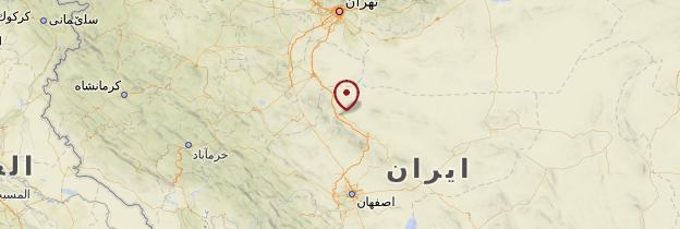 Carte Kashan - Iran