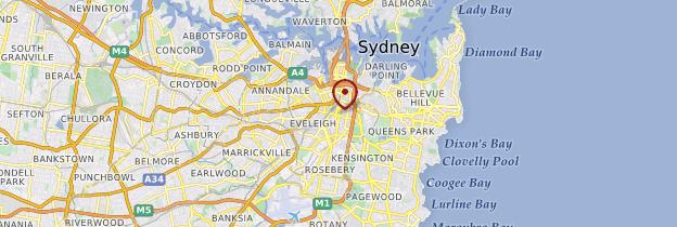 Carte Région de Sydney - Australie