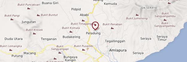 Carte Tirtagangga - Bali