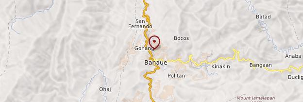 Carte Banaue - Philippines