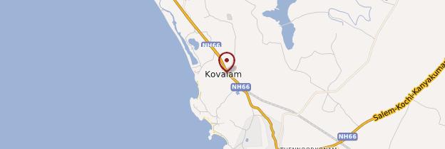 Carte Kovalam - Kerala