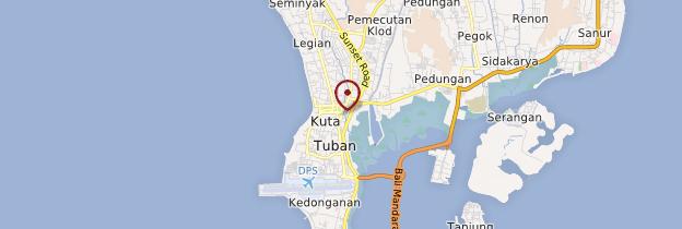 Carte Kuta - Bali