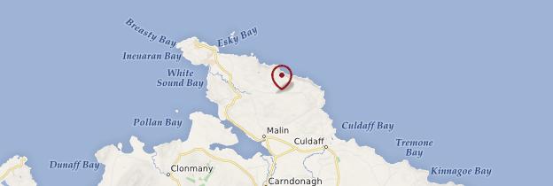 Carte Malin Head - Irlande