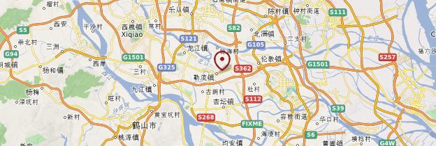 Carte Longsheng - Chine