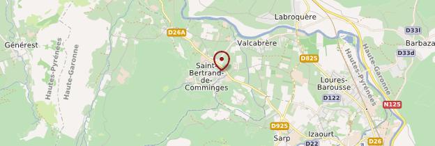 Carte Saint-Bertrand-de-Comminges - Midi toulousain - Occitanie