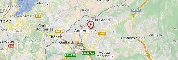 Carte Annemasse - Alpes