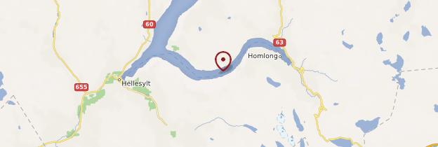 Carte Geirangerfjord - Norvège