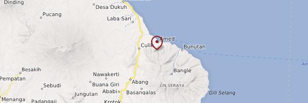 Carte Amed - Bali