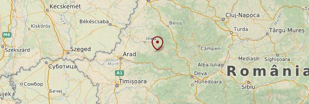 Carte Monts Apuseni (Munții Apuseni) - Roumanie