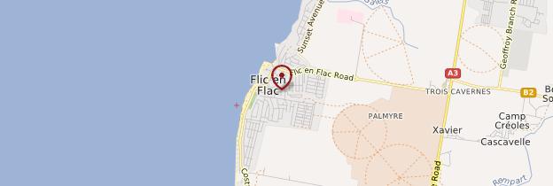 Carte Flic en Flac - Île Maurice, Rodrigues