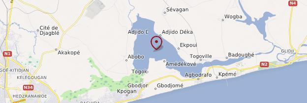 Carte Lac Togo - Togo