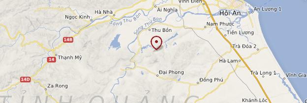 Carte Mỹ Sơn - Vietnam