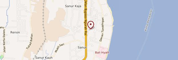 Carte Sanur - Bali
