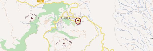 Carte Furnas - Açores