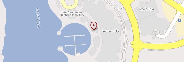 Carte Complexe Dubaï Festival City - Dubaï