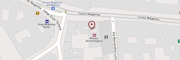 Carte Chiesa di San Maurizio - Milan