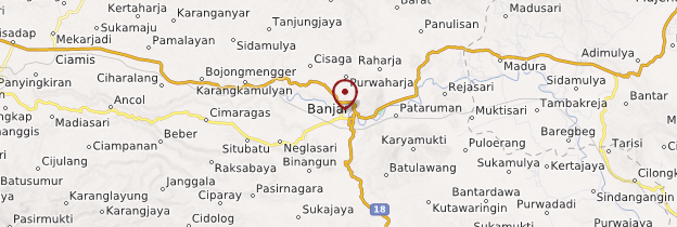 Carte Banjar - Indonésie