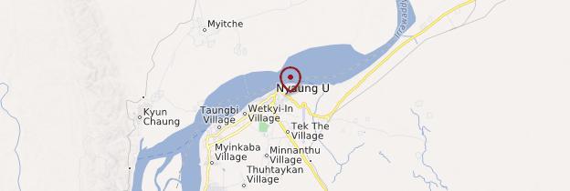 Carte Nyaung-U - Birmanie