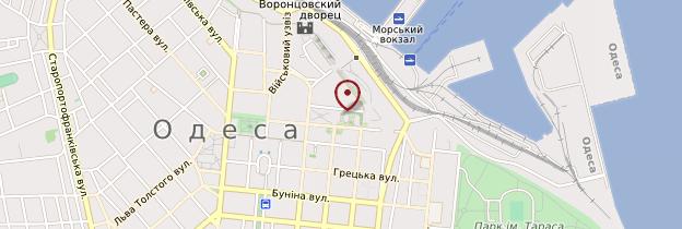 Carte Théâtre d'opéra et de ballet d'Odessa - Ukraine