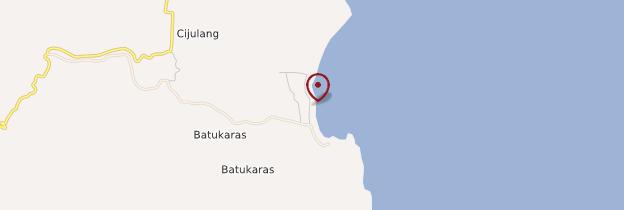 Carte Batu Karas - Indonésie