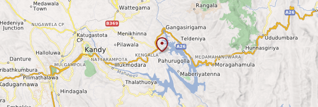 Carte Digana - Sri Lanka