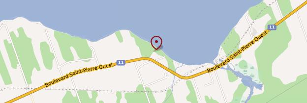 Carte Sainte-Anne-du-Bocage - Canada