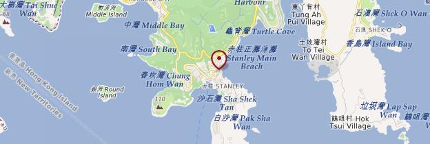 Carte Stanley - Hong Kong
