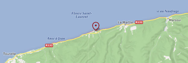 Carte Cap-au-Renard - Québec