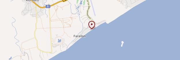 Carte Farallón - Panama
