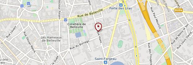Carte Église Notre-Dame-des-Otages - Paris
