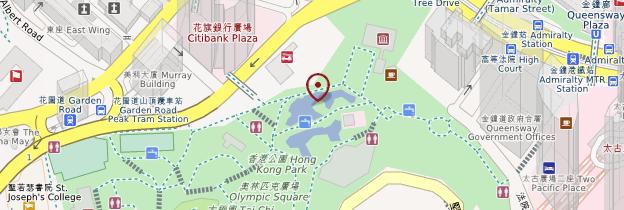 Carte Hong Kong Park - Hong Kong