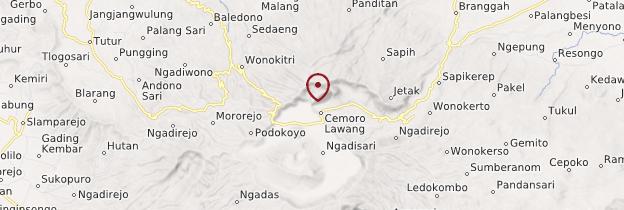 Carte Cemoro Lawang - Indonésie