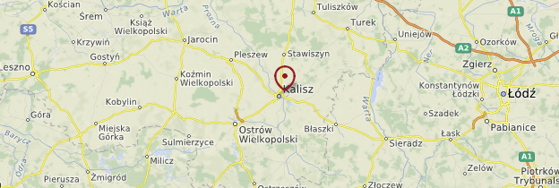 Carte Kalisz - Pologne