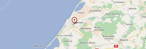 Carte Darlowo - Pologne