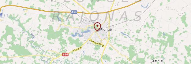 Carte Plungė - Lituanie