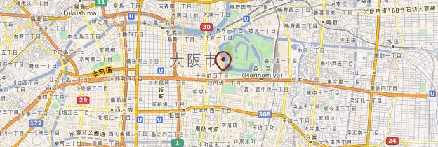 Carte Musée d'Histoire d'Osaka - Japon