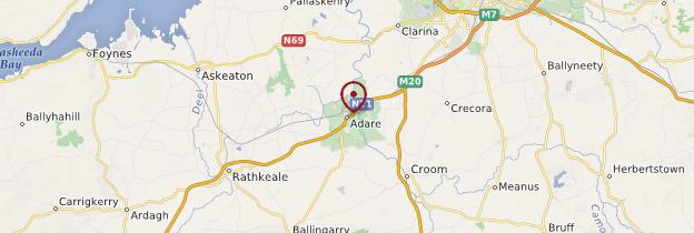 Carte Adare - Irlande