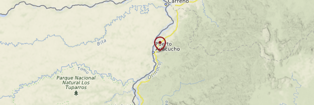 Carte Puerto Ayacucho - Venezuela