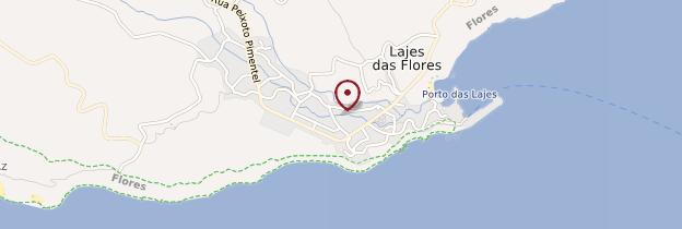 Carte Lajes das Flores - Açores
