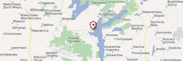 Carte Powidz - Pologne