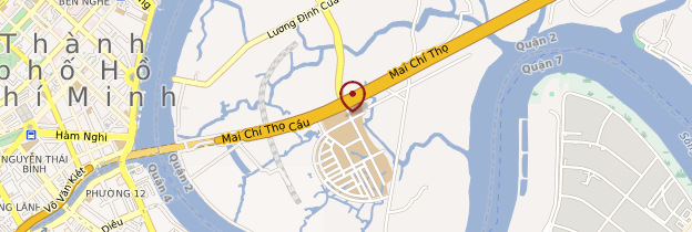 Carte Pagode Đại Quang Minh - Vietnam