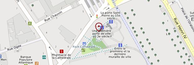 Carte Porte Saint-Pierre - Nantes