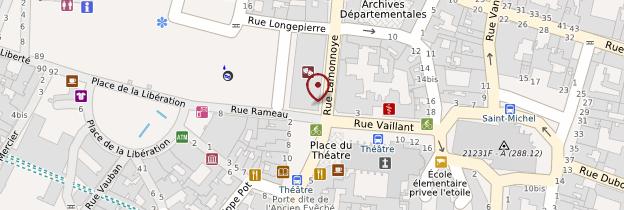 Carte Grand Théâtre - Bourgogne