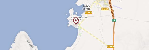 Carte Bahia Inglesa - Chili