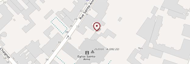 Carte Église Sainte-Anne (Musée d'Art sacré) - Bourgogne