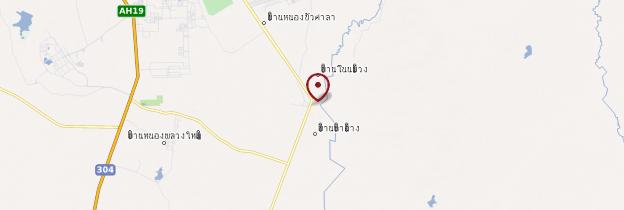 Carte Dan Kwian - Thaïlande