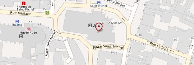 Carte Église Saint-Michel de Dijon - Bourgogne