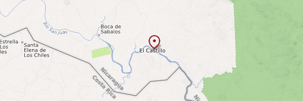 Carte El Castillo - Nicaragua