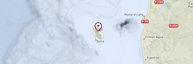 Carte Isla Mocha - Chili