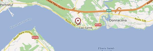 Carte Cap-Santé - Québec
